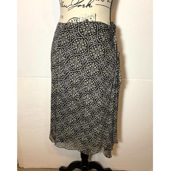 Philippe Adec Dresses & Skirts - Philippe Adec Floral Silk Skirt